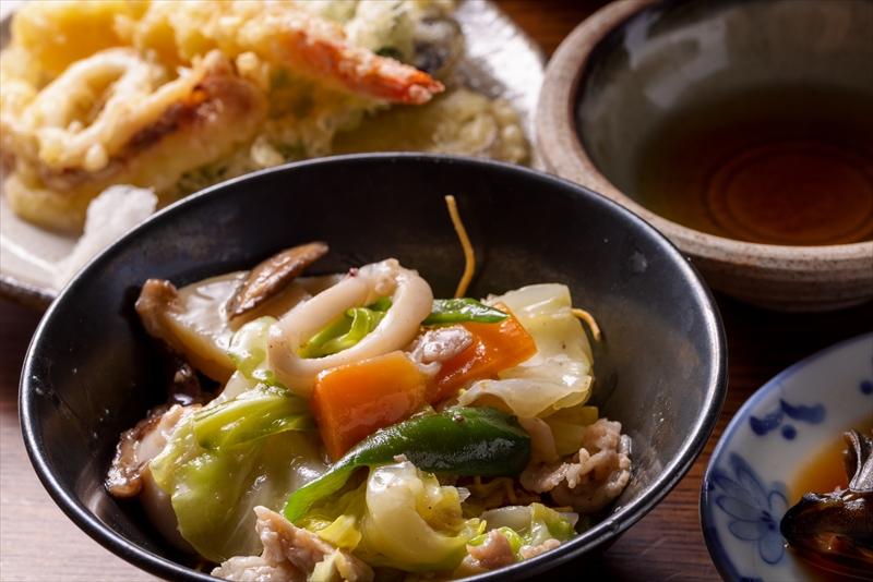 福友荘の料理