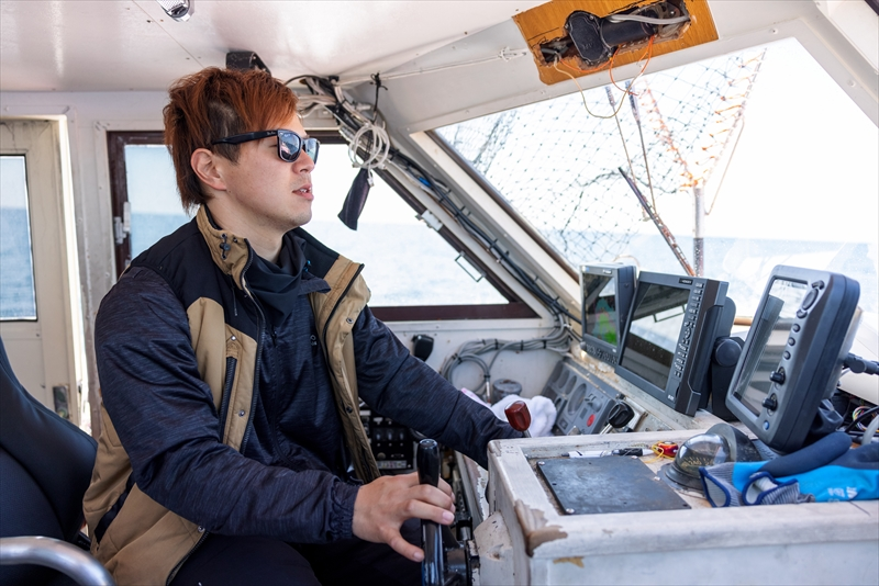 知夫里島へのチャーター瀬渡し船 隠岐 知夫里島の福友渡船
